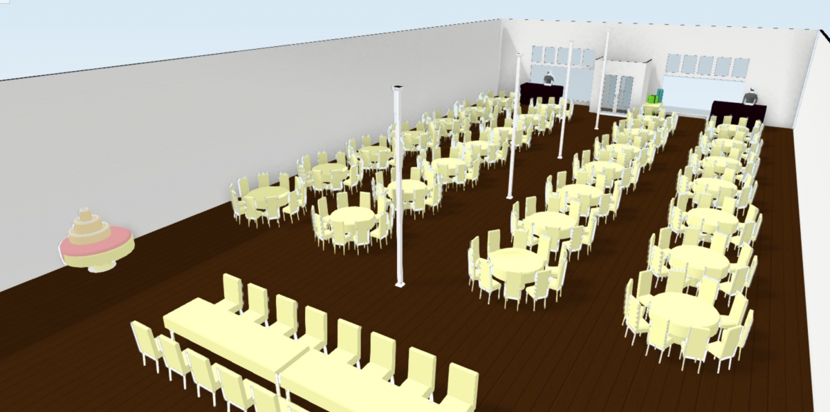 34 Events Building Floor Plan Dallas Texas Wedding Event